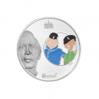 1,5 euro France 2007 argent BE - Tintin et Tchang Avers
