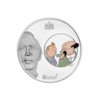 1,5 euro France 2007 argent BE - Tintin et Tournesol Avers