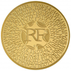 200 euro France 2011 or BU - Régions Avers