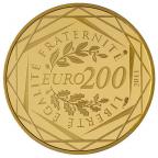 200 euro France 2011 or BU - Régions Revers