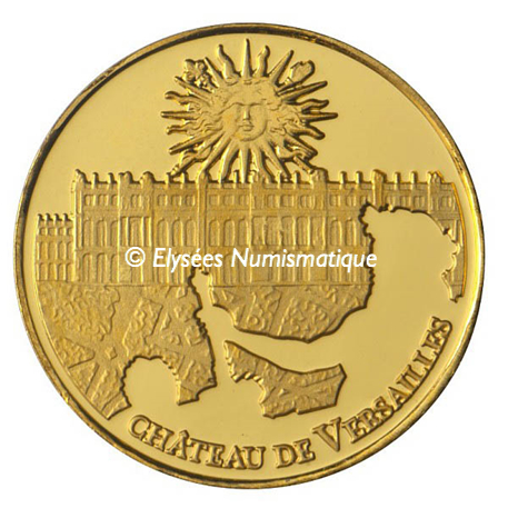 5 euro France 2011 or BE - Château de Versailles Avers