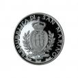 5 euro Saint-Marin 2013 argent BE - Arène de Vérone Avers