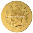 50 euro France 2011 or BE - Charles II dit Le Chauve Avers