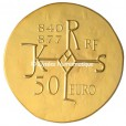 50 euro France 2011 or BE - Charles II dit Le Chauve Revers
