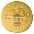 50 euro France 2011 or BE - Clovis Revers