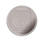 Médaille argent 2007 - Le Colisée de Rome Avers
