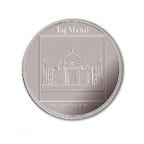 Médaille argent 2007 - Le Taj Mahal Avers