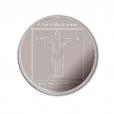 Médaille argent 2007 - Statue du Christ Rédempteur Avers