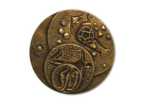 Médaille bronze 2005 - Álvaro Ribeiro Revers