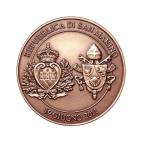 Médaille bronze - Visite pastorale Revers