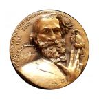Médaille cuivre - Verdi Avers