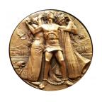Médaille cuivre - Verdi Revers