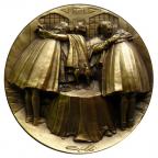Médaille laiton - Institution de la République Avers