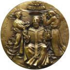 Médaille laiton - Institution de la République Revers
