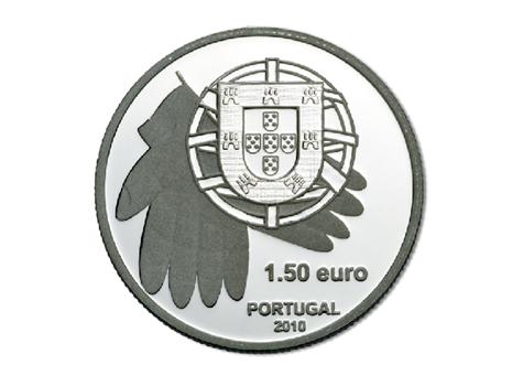 Marque-page 1,5 euro Portugal 2010 FDC - Banque alimentaire contre la faim Revers
