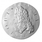 10 euro France 2014 argent BE - Louis XIV Avers