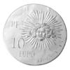 10 euro France 2014 argent BE - Louis XIV Revers
