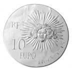 10 euro France 2014 argent BE - Louis XIV Revers