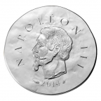 10 euro France 2014 argent BE - Napoléon III Obverse