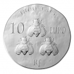 10 euro France 2014 argent BE - Napoléon Ier Revers