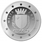 10 euro Malte 2013 argent BE - Paul Boffa Avers