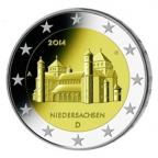 2 euro commémorative Allemagne 2014 A - Niedersachsen