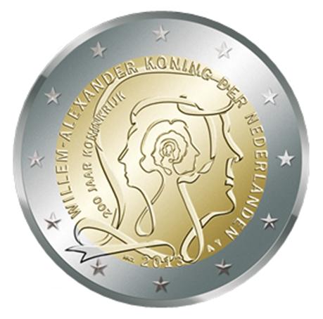 2 euro commémorative Pays-Bas 2013 - Royaume des Pays-Bas
