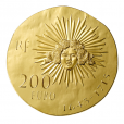 200 euro France 2014 or BE - Louis XIV Revers