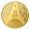 200 euro France 2014 or BE - Tour Eiffel Avers