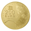 200 euro France 2014 or BE - Tour Eiffel Revers