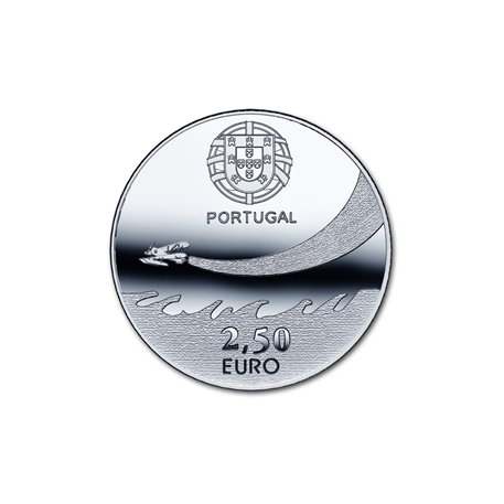 2,5 euro Portugal 2014 - Aviation militaire Avers