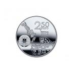 2,5 euro Portugal 2014 - Université de Coimbra Avers