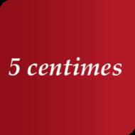 5 centimes