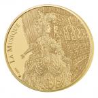 50 euro France 2014 or BE - Jean-Philippe Rameau Avers