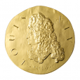 50 euro France 2014 or BE - Louis XIV Avers