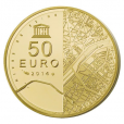 50 euro France 2014 or BE - Tour Eiffel Revers