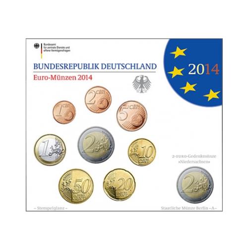 Coffret BU Allemagne 2014 A