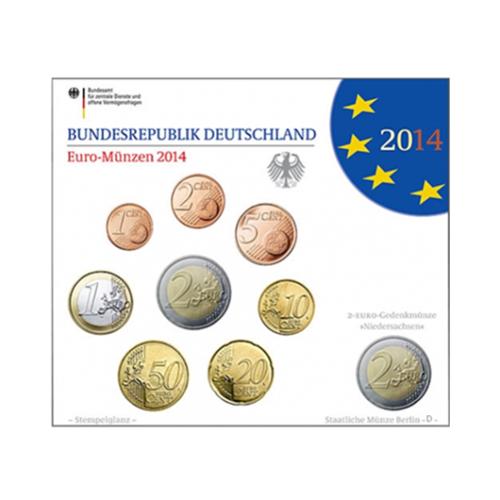 Coffret BU Allemagne 2014 D