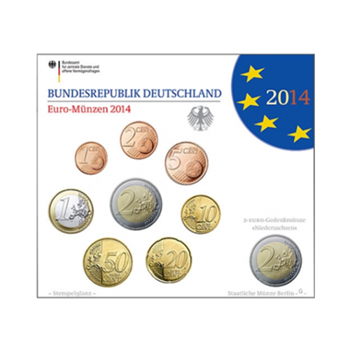 Coffret BU Allemagne 2014 G