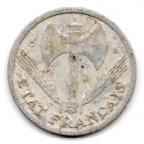 (FMO.1.1944_C.24.6.000000002) 1 Franc Francisque, légère 1944 C Avers