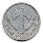 (FMO.1.1944_C.24.6.000000003) 1 Franc Francisque, légère 1944 C Avers