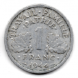 (FMO.1.1944_C.24.6.000000003) 1 Franc Francisque, légère 1944 C Revers