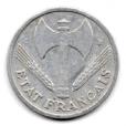 (FMO.1.1944_C.24.6.000000005) 1 Franc Francisque, légère 1944 C Avers