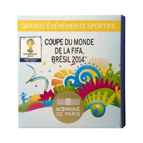 500 euro France 2014 or BE - Coupe du monde de football (visuel complémentaire)