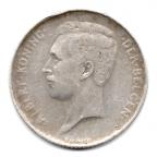 (W023.100.1913.1.1.000000001) 1 Franc 1913 Albert Ier - Légende flamande Avers (visuel 2)
