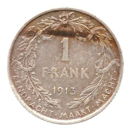 (W023.100.1913.1.1.000000001) 1 Frank Albert Ier 1913 Revers