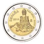 2 euro commémorative Espagne 2014 - Parc Güell, par Gaudí