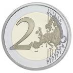 2 euro commémorative France 2014 BE - Débarquement allié en Normandie Revers