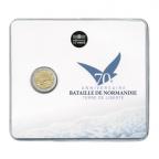 2 euro commémorative France 2014 BU - Débarquement allié en Normandie Recto