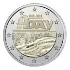 2 euro commémorative France 2014 - Débarquement allié en Normandie